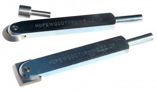 negative rake scrapers