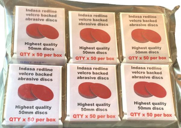 Indasa Box50 set of 6 PK