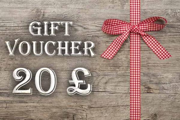 Gift Voucher 20 £