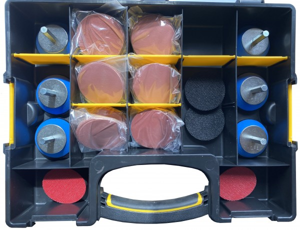 Box 4 57mm hex/pro sander set