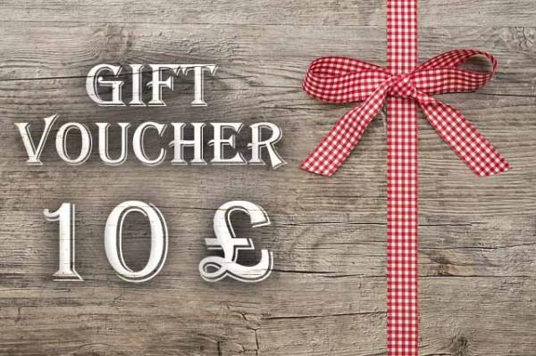 Gift Voucher 10 £
