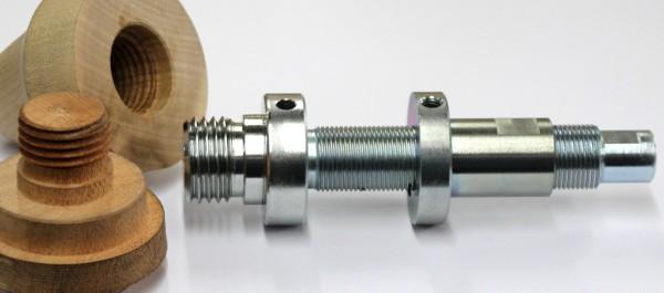 threading spindle/lathe