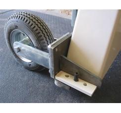 Large lathe complete wheel set