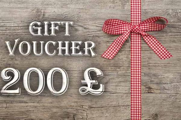 Gift Voucher 200 £