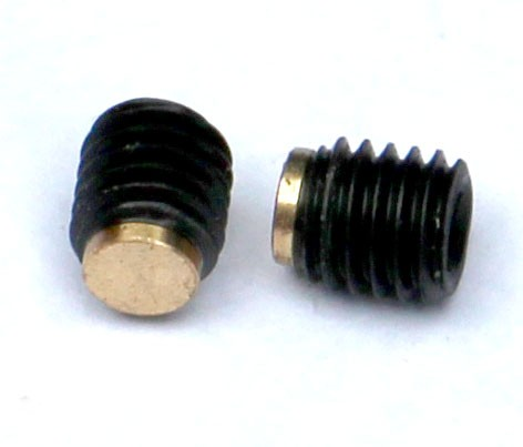 2 x brass tipped grub screws