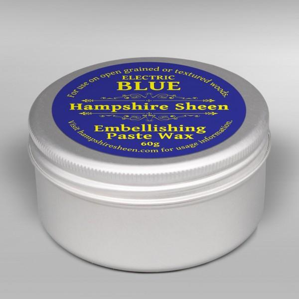 .Electric Blue Embellishing Wax