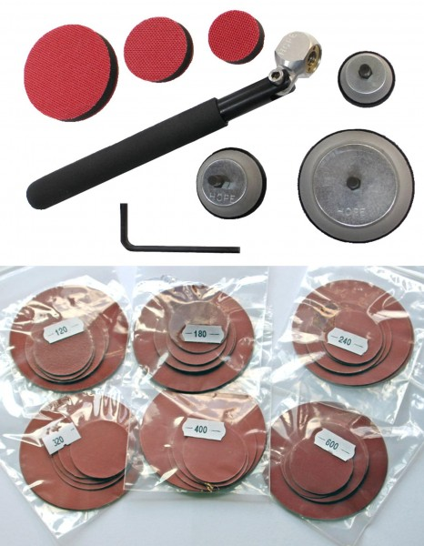 Hope Pro Sander Complete Kit with Abrasive