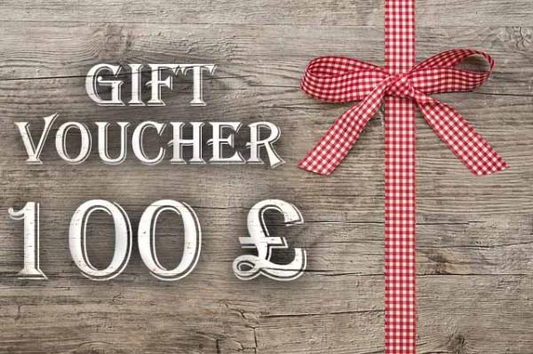 Gift Voucher 100 £