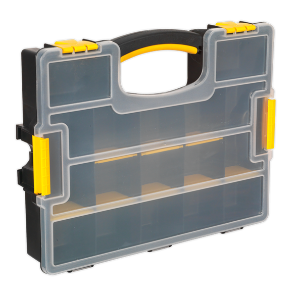 Parts Storage Case with Removable Compartments