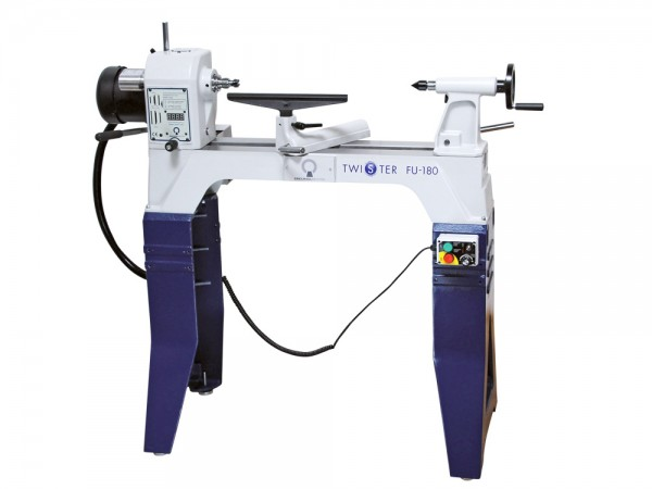 KS Twister FU-180 Woodturning Lathe with legs