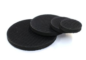 Sanding arbor replaceable front neoprene pads
